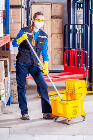 Services of cleaning